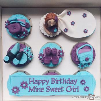 cosmetic birthday cake for girls