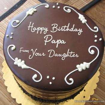 Birthday Cake for Dad Give Honor To His Unlimited Efforts