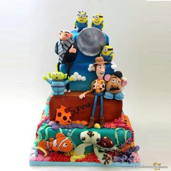 disney cake decorations