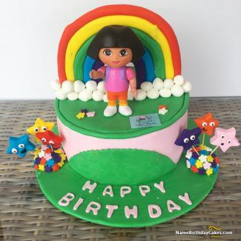 dora cake design