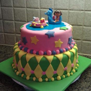 dora cake for kids