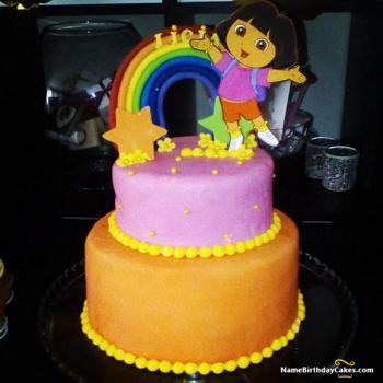 dora cake ideas