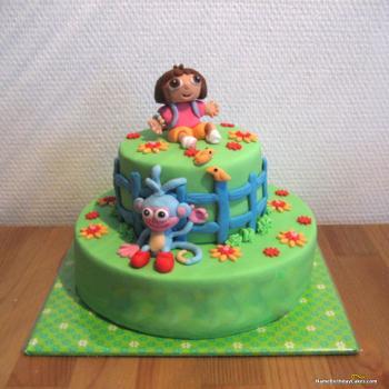 dora cake photos