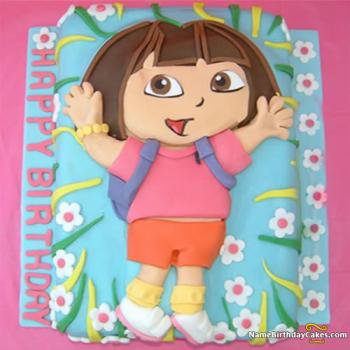dora happy birthday images