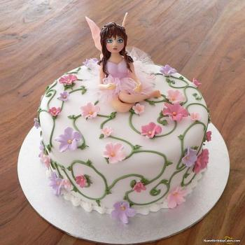 fairy birthday cake pictures