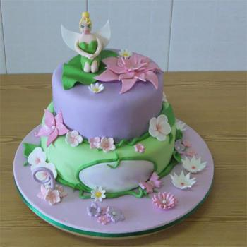Admirable Beautiful Fairy Birthday Cake Best Fairy Cakes Ideas Funny Birthday Cards Online Overcheapnameinfo