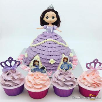 fairy girls cakes