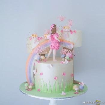 fairy themed cakes