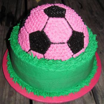 football cake ideas