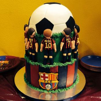 football cake pictures