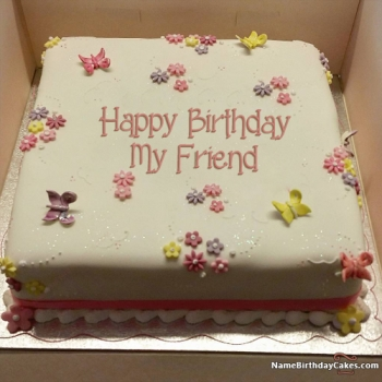 friend birthday cake free images