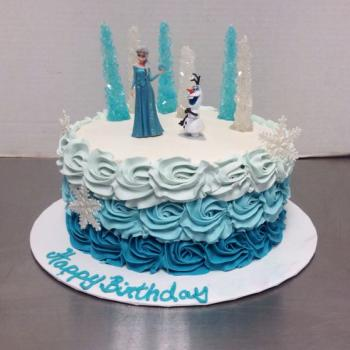 Frozen Birthday Cake Beautiful Frozen Themed Cake