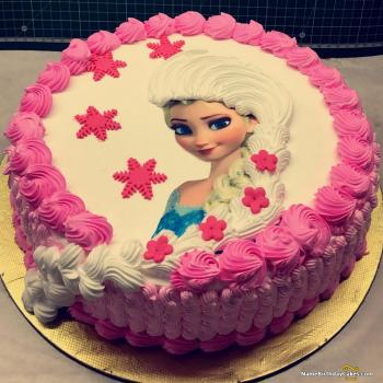 frozen birthday cake photos
