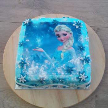 frozen cake decorations