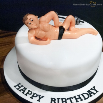 funny birthday cake for men