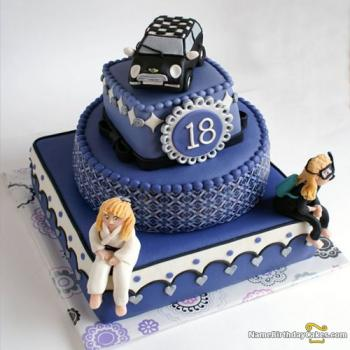 girls 18th birthday cake images