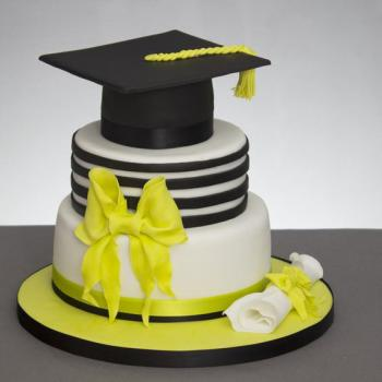 graduation hat cake topper