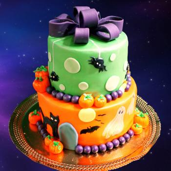 halloween birthday cake pictures