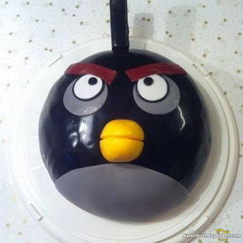 happy birthday cake angry birds