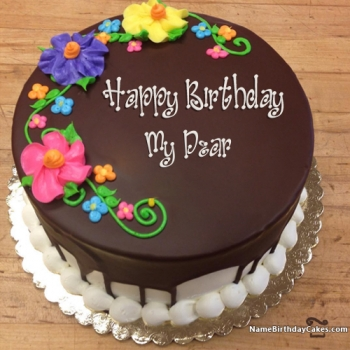 View HD Happy Birthday Cake For Men With Name