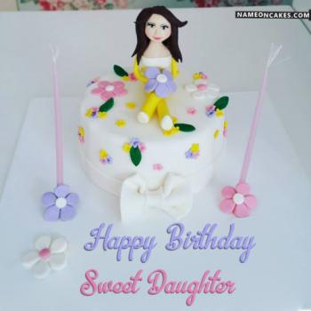 happy birthday daughter cake