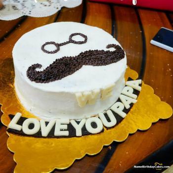 happy birthday father cake