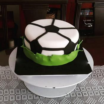 happy birthday football cake