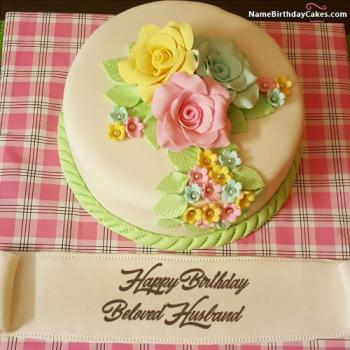 happy birthday husband cake