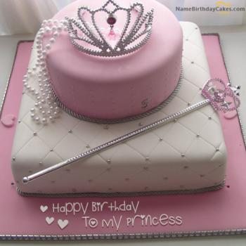 happy birthday princess cake for girlfriend