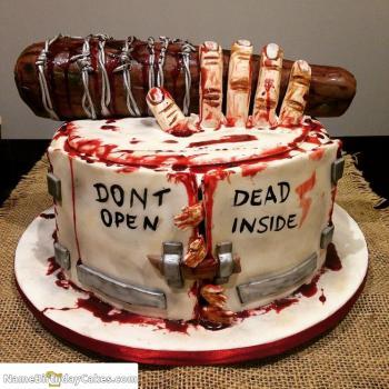 horror halloween cakes