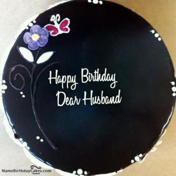 husband birthday cake message