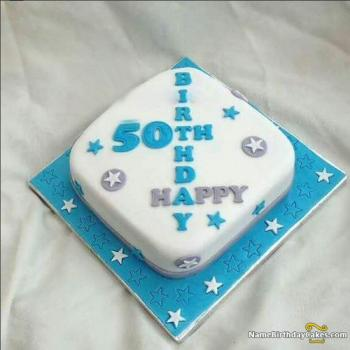 ideas for 50th birthday cake