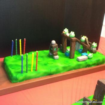 images of cake angry birds