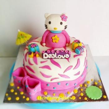 kids birthday cake 3d