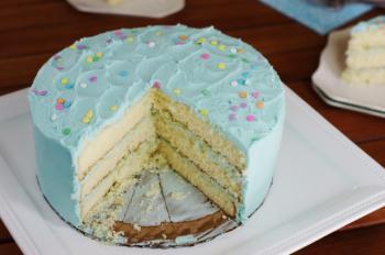 Magnolia Bakery's Vanilla Birthday Cake