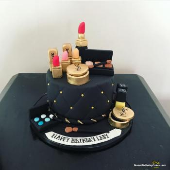 makeup cake for sister