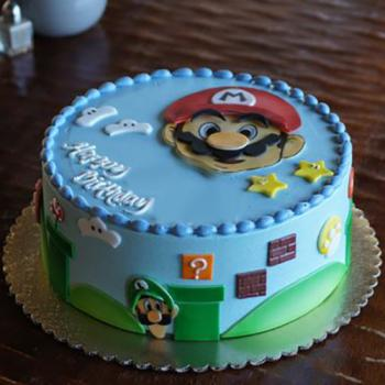 mario birthday cake images