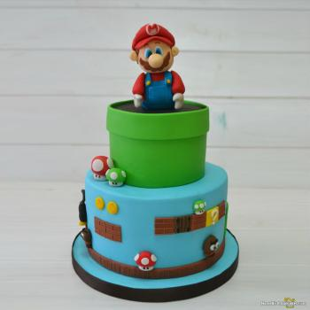 mario birthday cake pictures