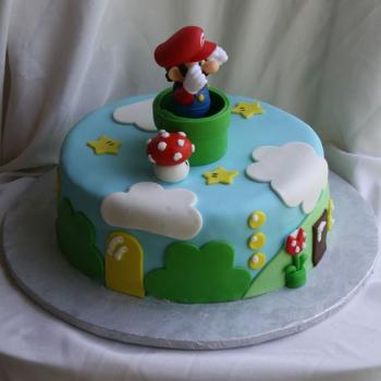 mario bros cake ideas