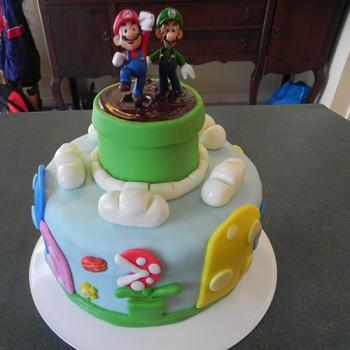 mario cake ideas