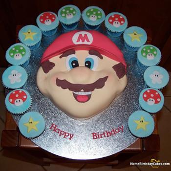mario cupcakes ideas