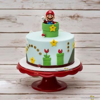 mario themed cake