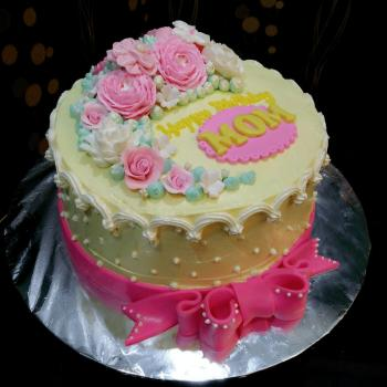 mom bday cake images