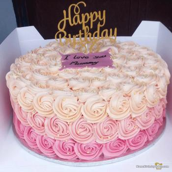 Superb Birthday Cake For Mom Special Cakes For Special Relation Personalised Birthday Cards Bromeletsinfo