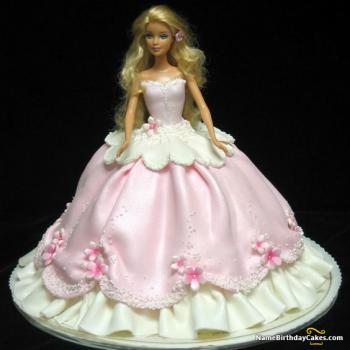 new barbie cake