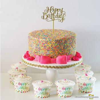 new cake for birthday boy