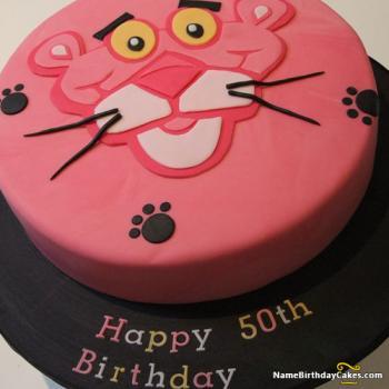 panther 50th cake