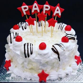 View HD Papa Birthday Cake