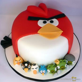 pictures cake angry birds