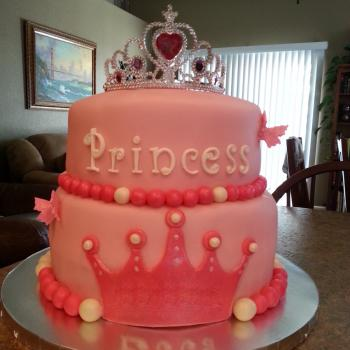 View HD Princess Birthday Cake Ideas
